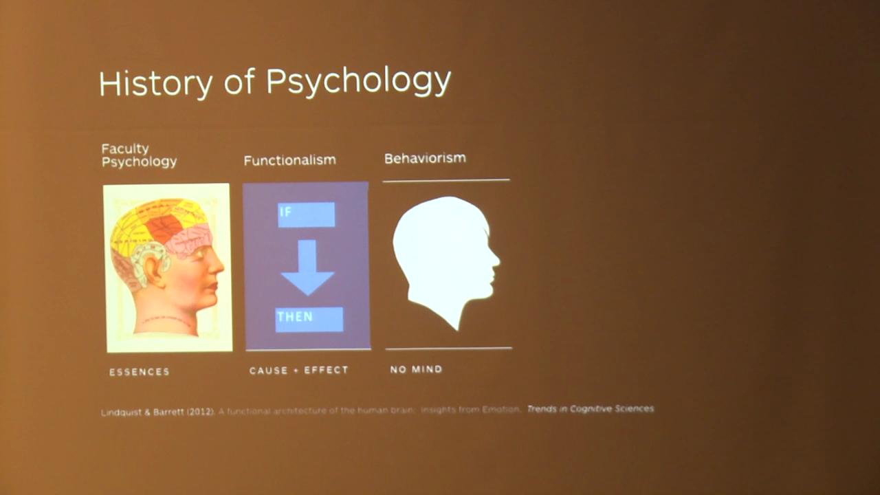 Yale Psychiatry Grand Rounds: Lisa Feldman Barrett