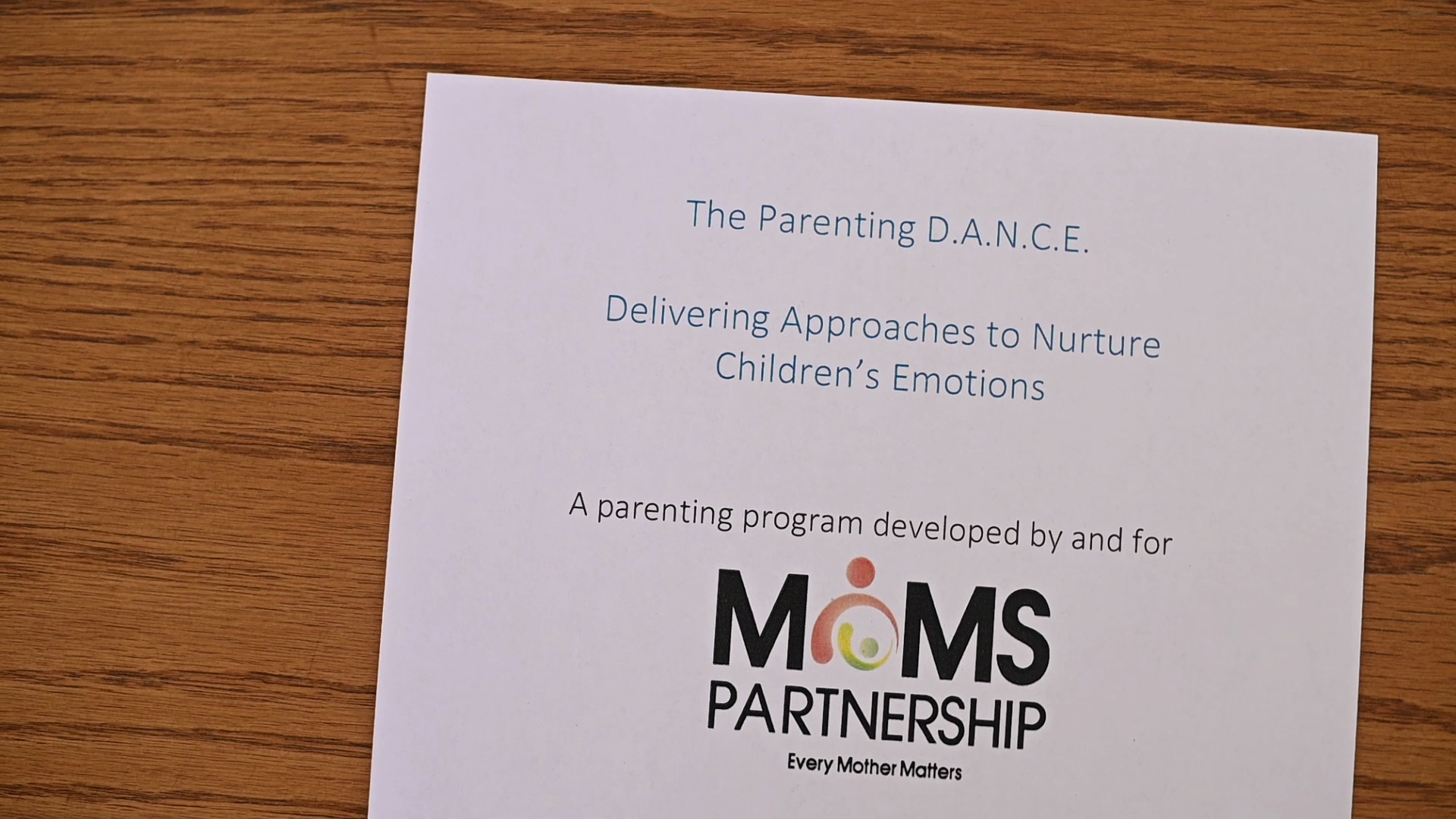 New Haven MOMS Parenting D.A.N.C.E. Information and Testimonials