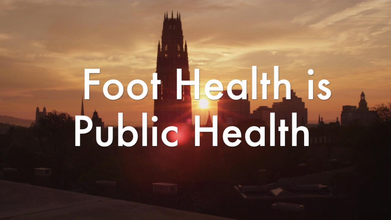 Foot Health is Public Health