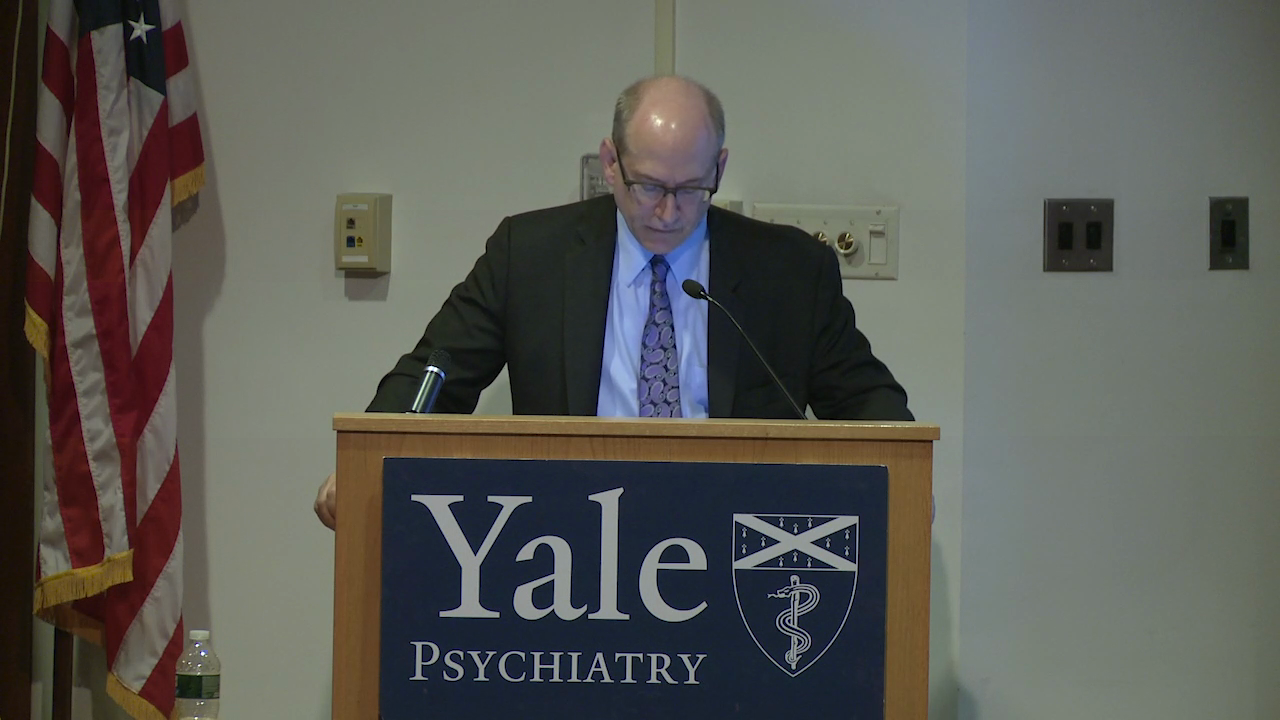 Yale Psychiatry Grand Rounds: September 20, 2019